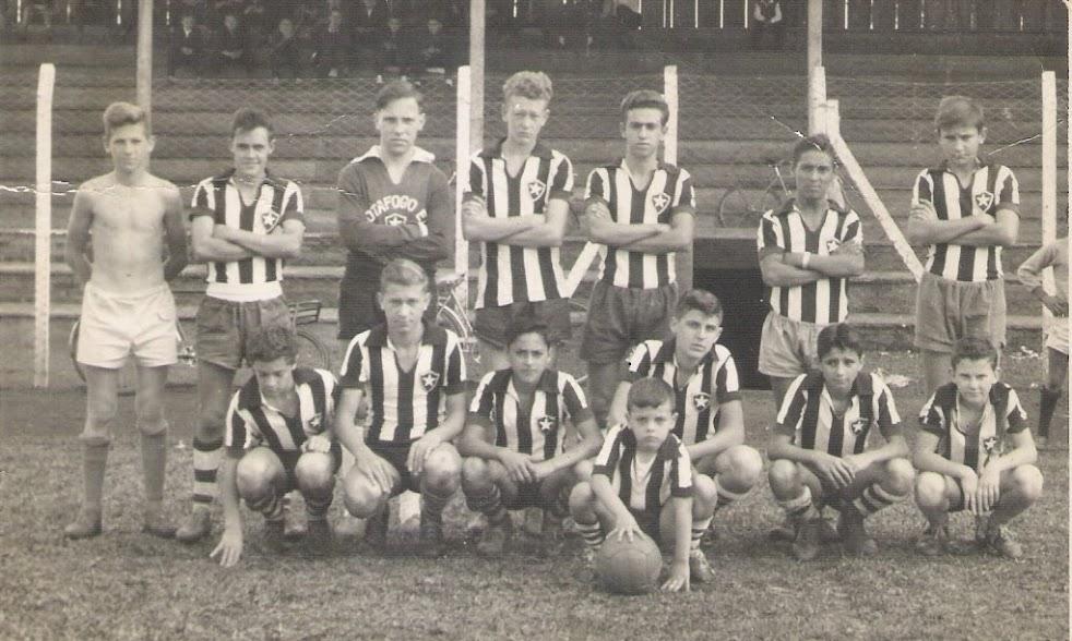 Juvenis do Botafogo - década de 60