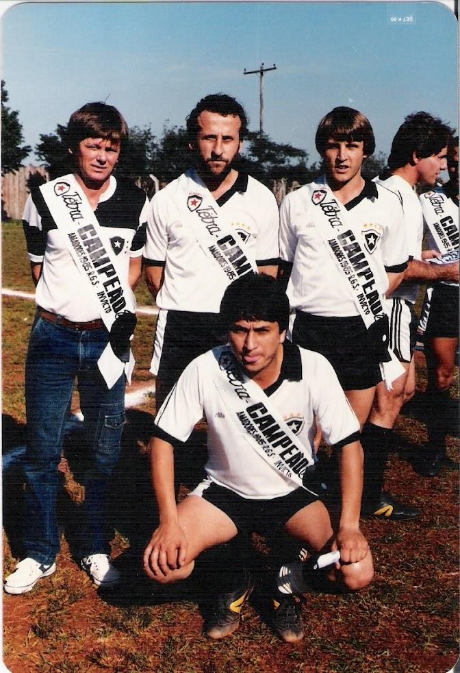 Jogo de Colocação de faixa em 1986