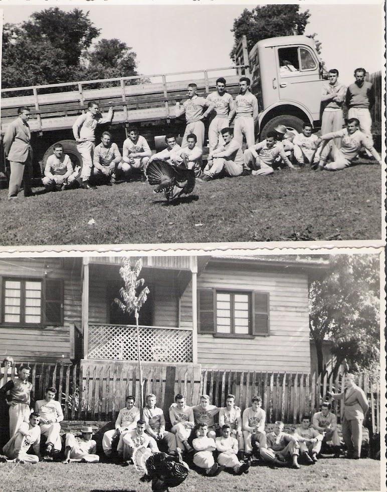 Concentração na casa do Edvino - 13.05.1962