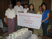 FBBC Relief works through Myanmar Baptist Convention