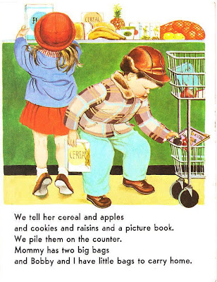 Little Golden Book - We Help Mommy