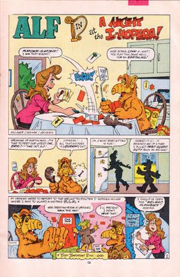ALF comic with Marx Brothres parody