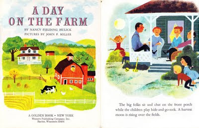 Little Golden Book A Day on the Farm