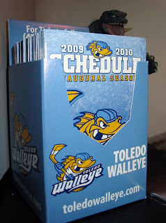 Toledo Walleye pocket schedule holder