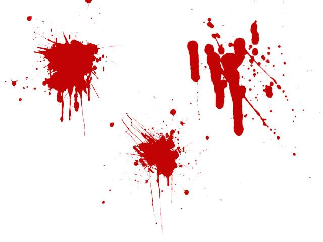 Как сделать анимацию крови