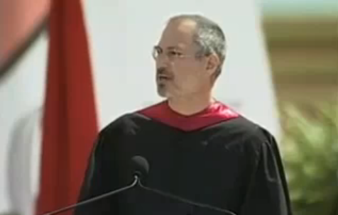 Apple CEO Steve Jobs at Stanford University Commencement