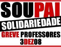 Pais em Solidariedade com a Greve Nacional dos Professores