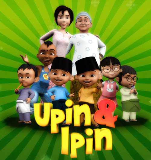 Keluarga Upin Ipin dan teman