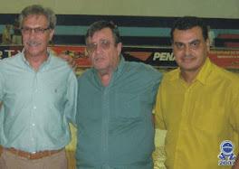 HÉLIO RUBENS, visita Vila Olímpica de Nova Iguaçu/2007