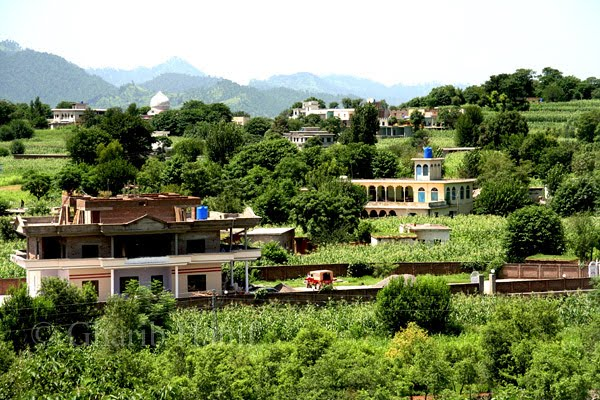 A beautiful view of Village
