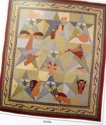Nana Girl Quilts Angel Quilt Pattern
