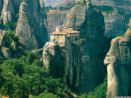 METEORA, GREECE (Near Larissa)