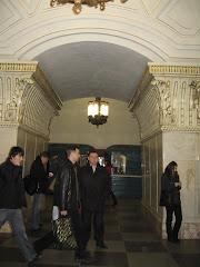 In metroul din Moscova