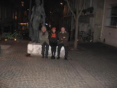 Statuia lui Eminescu din Quartier Latin