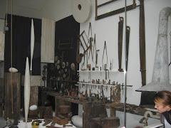 Atelierul lui Brancusi la Centr Georges Pompidou