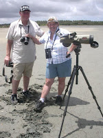 Liz and Keith at Palawi Saltpans
