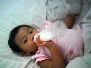 my baby cj while she was confined in the hospital and being treated from measles and suspected pneunomia