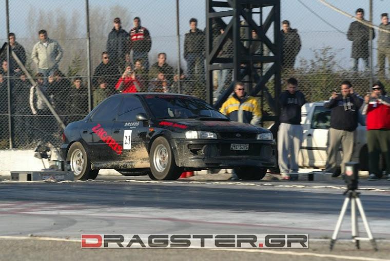 SUBARU DRAG CAR  ZAGARIS  0-400 9.2 SECOND NEW RECORD