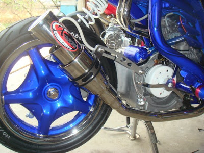 Banlebar warna biru modifikasi mio gambar modifikasi mio modification mio pelek racing 17 gambar mio drag