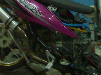 Modif Yamaha Mio Drag