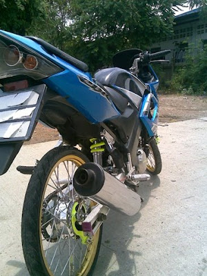 raider r 150 vs cbr 150 modifikasi