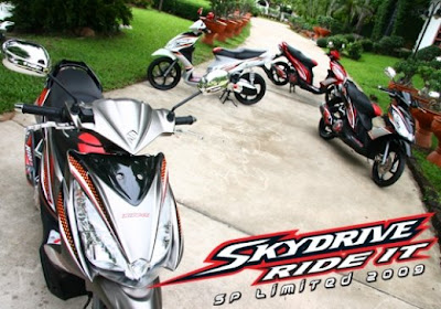 New Suzuki Skydrive LIMITED
