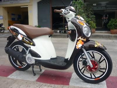 Suzuki Skydrive Fuel Injected