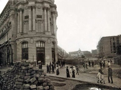 La Gran Vía en 1912