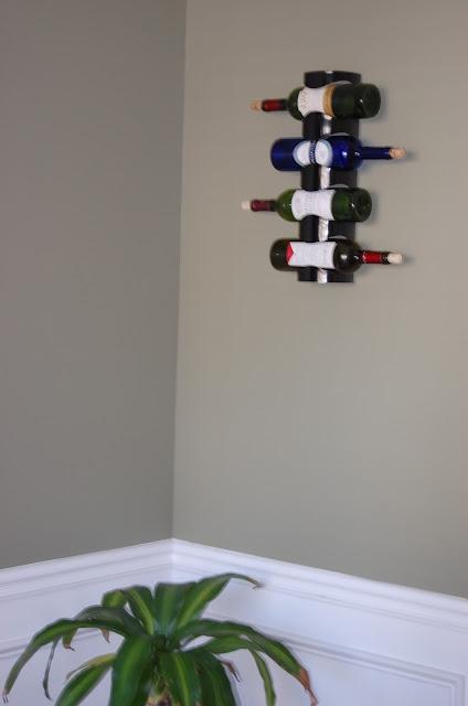 DIY: IKEA Wine Rack Hack