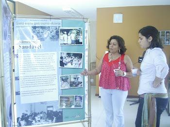 Exposição dos 25 anos da ação comunitária do Goeldi no bairro da Terra Firme