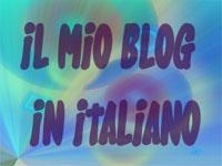 Il mio blog in Italiano