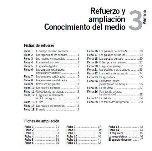 AMPLIACI  N DE CONOCIMIENTO DEL MEDIO SANTILLANA  3   PRIMARIA