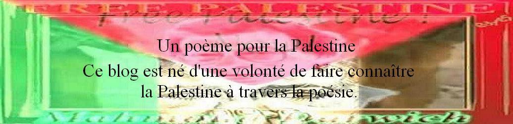 un poème pour la palestine