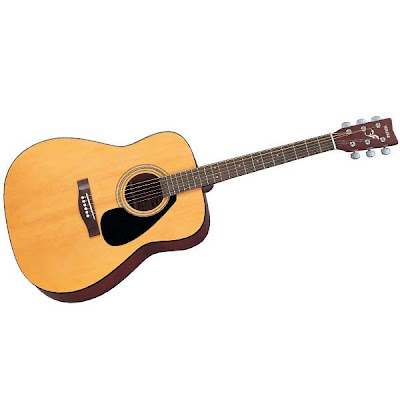 guitar: Yamaha F310