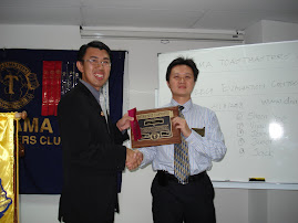 DTM Award to Charter President Soh Fong Wai