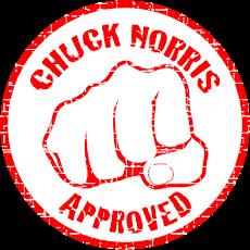 Aprobados por Chuck Norris