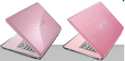 pink sony vaio cr laptop