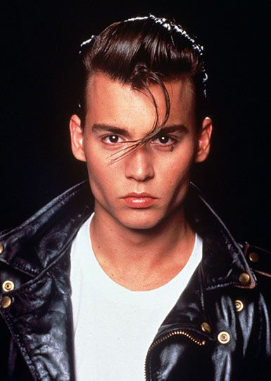 how old was johnny depp in cry baby. young johnny depp wallpaper.
