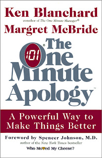 The One Minute Apology by Ken Blanchard Audiobook