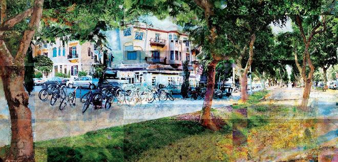Rothschild Boulevard, Tel Aviv. 2008