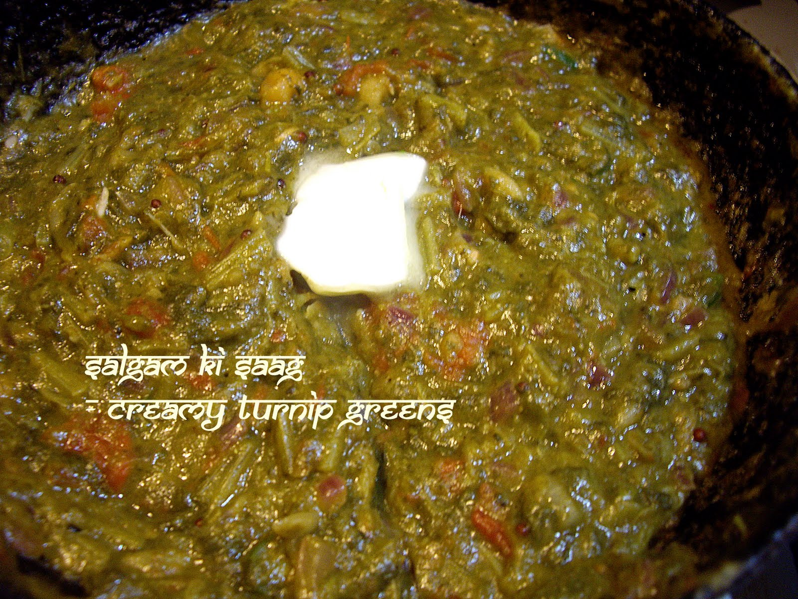 How to cook fresh turnip greens