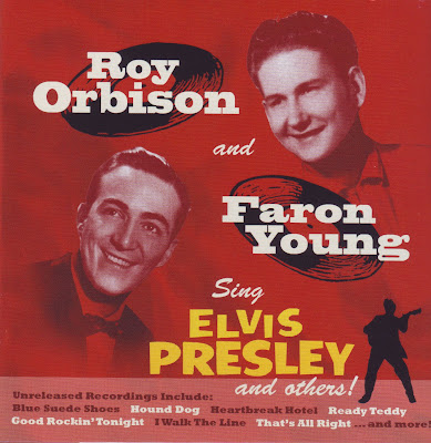 Cover Album of ROY ORBISON & FARON YOUNG 1956 SING ELVIS PRESLEY