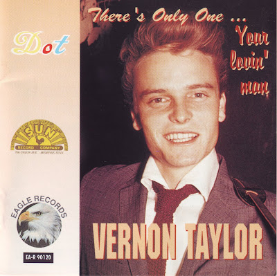 "Cover Album of VERNON TAYLOR ""THERE'S ONLY ONE"""