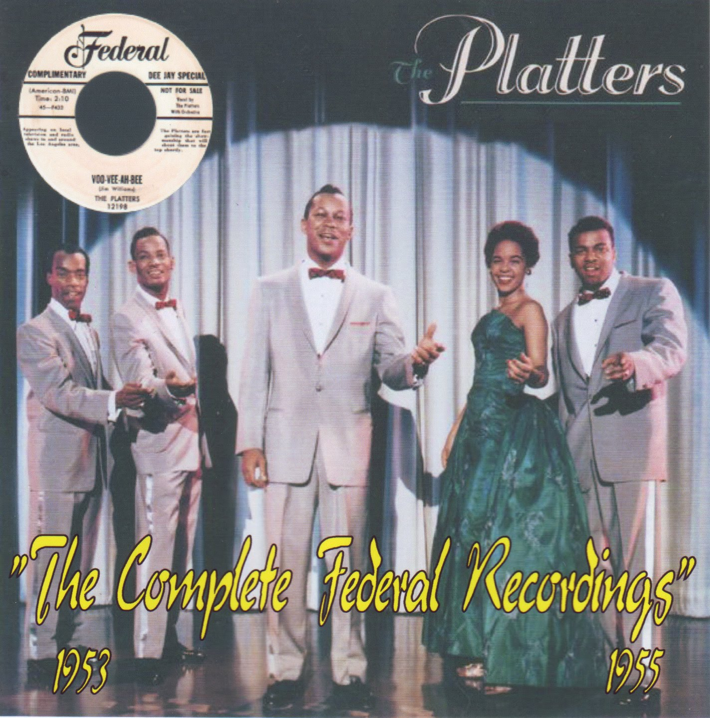 The Platters - Here's The Platters