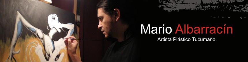 Blog de arte - Mario Albarracín - Pintor y dibujante Tucumano