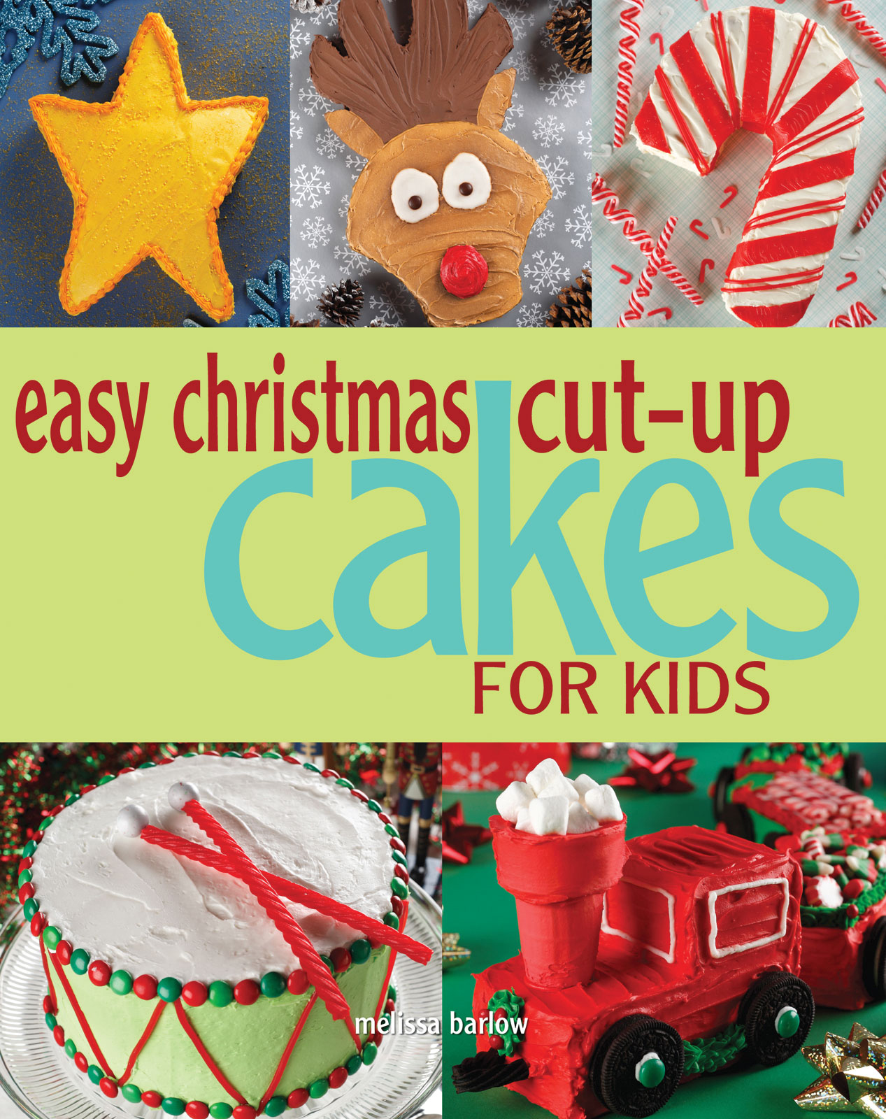 Easy Christmas Cut Up Cakes For Kids