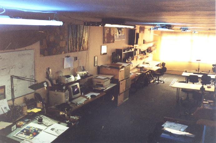 Estúdio Pinheiros - Sala principal da sede da rua Arthur de Azevedo