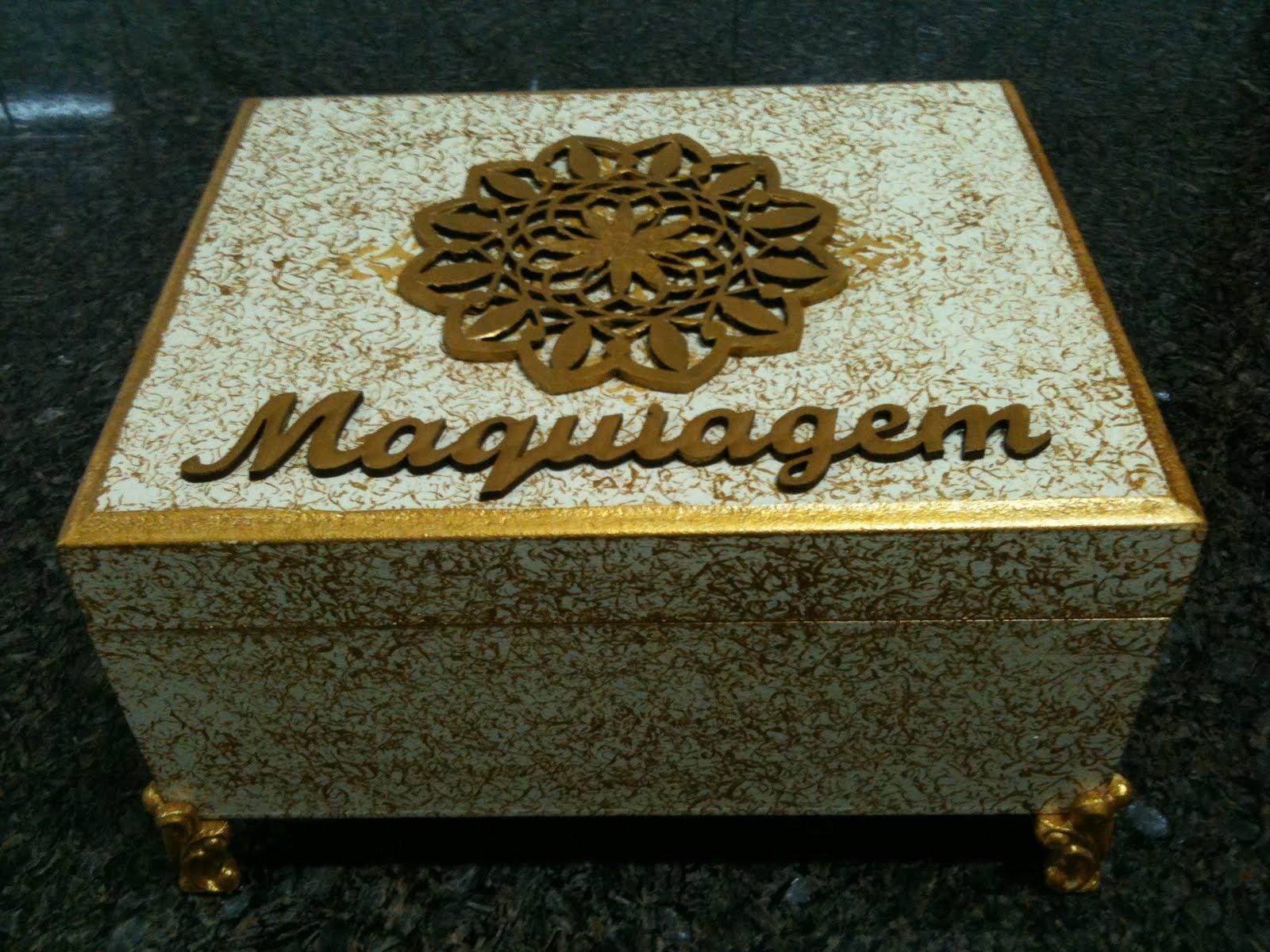 #664B18 Caixa de maquiagem 1600x1200 px caixa de madeira personalizada como fazer @ bernauer.info Móveis Antigos Novos E Usados Online