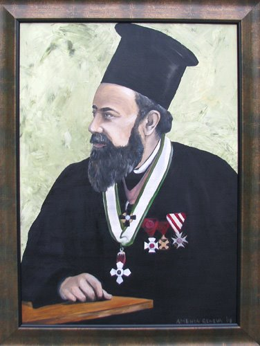 high priest Stefan Kanev 50 x 70 cm