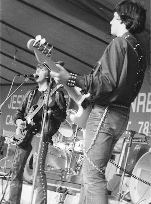 Épsilon en el I Festival de Rock de Sada (10 de abril de 1982):